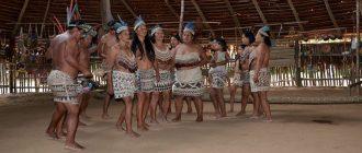 Индейские племена в Перу