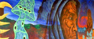 Стих о шаманской грибной церемонии в Мексике