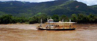Река в амазонских джунглях