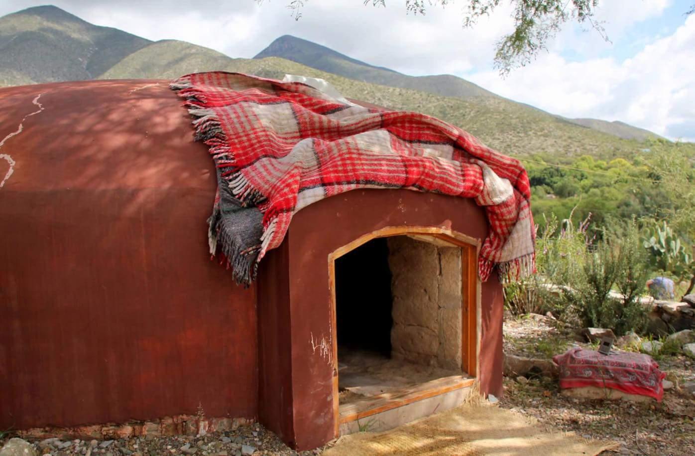 Индейская баня Темаскаль
