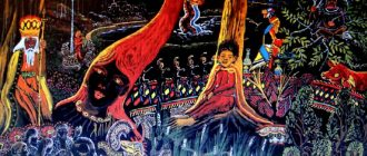 Картины художника-шамана Пабло Амаринго